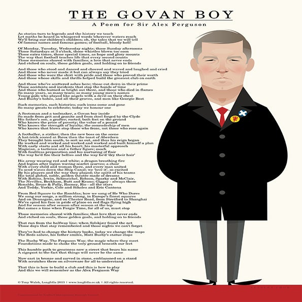 The Stanley Chow Print Shop — The Govan Boy