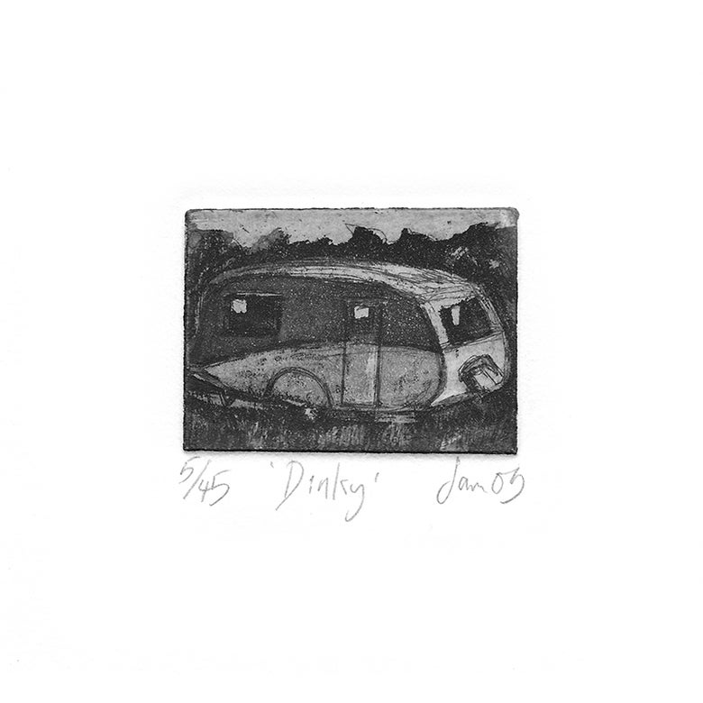 Image of 'Dinky' - Etching