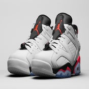 "Image of Nike Air Jordan 6 Low ""Infrared"""