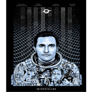 Image of Interstellar Giclée Print by Paul Jackson