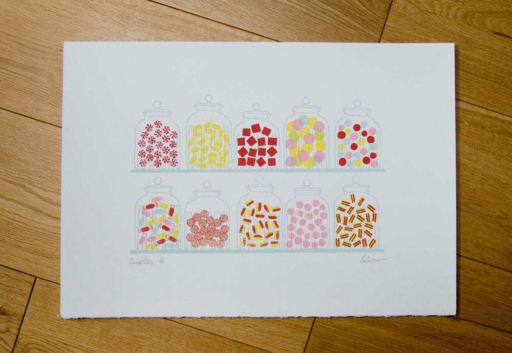 Image of Sweeties Screenprint