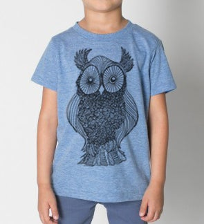 Image of Kids - Owl Tshirt