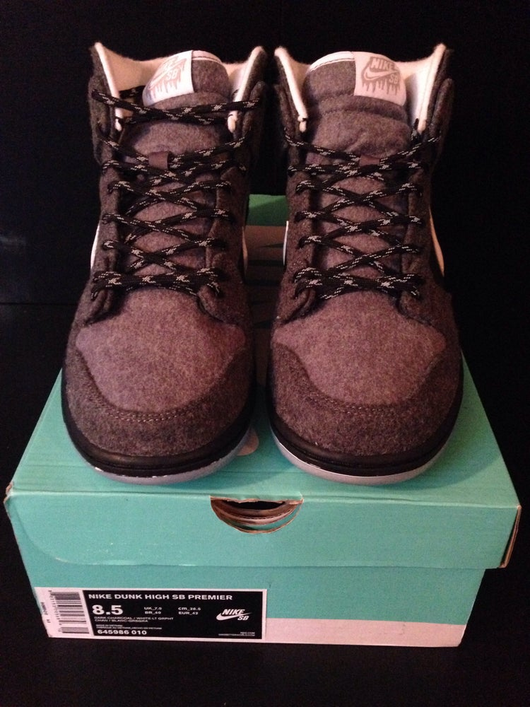 "Image of Nike Dunk High SB Premier ""Petekosy"""