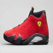 "Image of Nike Air Jordan 14 ""Ferrari"""