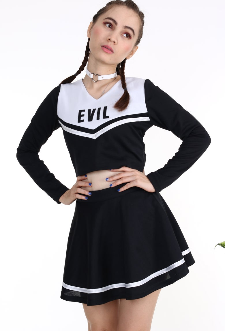 Image of 2 weeks waiting- Team Evil Cheerleading Set