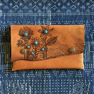 Image of Flowers Clutch