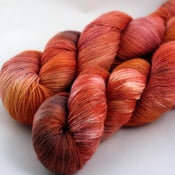 Image of Red Rock - Merino/Silk Sock Yarn