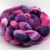 Image of Hibiscus - Polwarth Wool Top/Roving