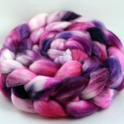 Image of Hibiscus - Merino/Superwash Merino/Silk Wool Top/Roving