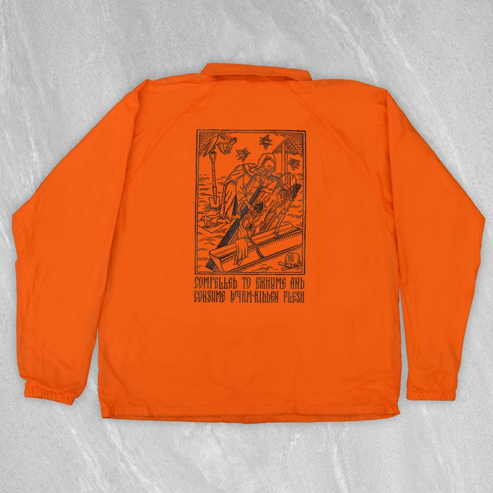 "Image of ""Compelled to Exhume & Consume"" Convict Coach Jacket"