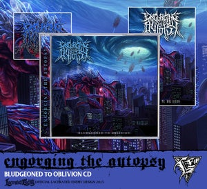 """Image of ENGORGING THE AUTOPSY - """"Bludgeoned To Oblivion"""" CD"""