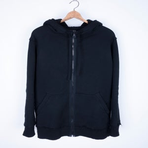 Image of Alexandre Plokhov - Extended Double Hood Raw Edge Hoodie