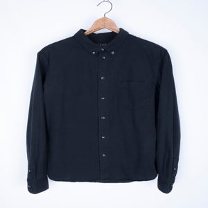 Image of A.P.C. - Garment Dyed Twill Button Down Shirt