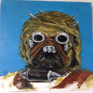 Image of Tusken Raider Painting