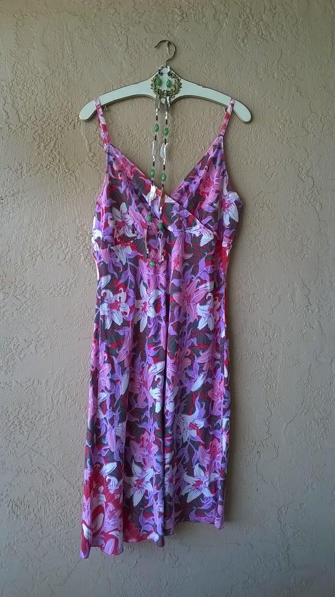 Rainbow Jo Tropical Summer Girl Beach Dress Tropical Style Resort Clothing