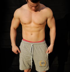Elite Shorts - Grey - Elite Fitness Apparel