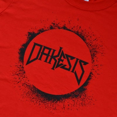 Image of Dakesis Red Logo T-Shirt