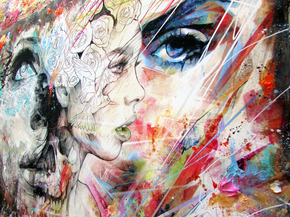 """Image of """"Together We Are Stronger"""" Limited Edition Hand Embellished Print"""