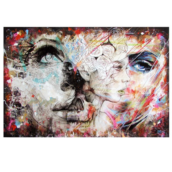 "Image of ""Together We Are Stronger"" Limited Edition Hand Embellished Print"