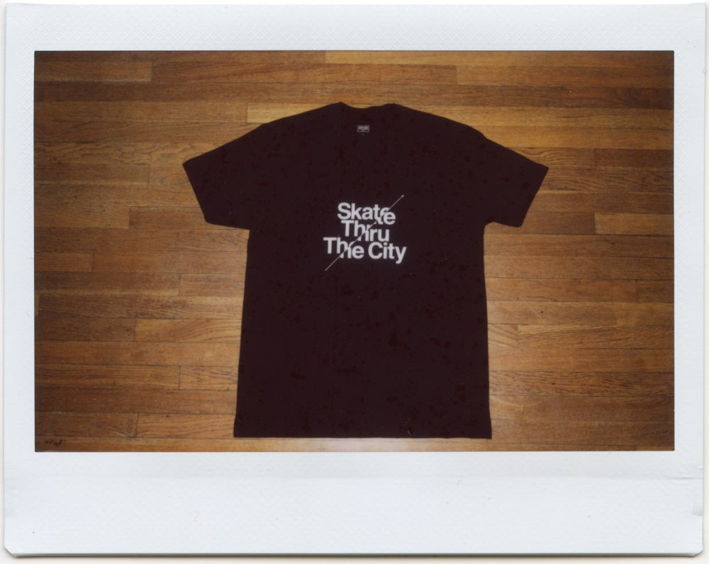Image of Skate Thru The City Tee