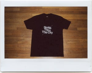 Image of Skate Thru The City Tee | Black