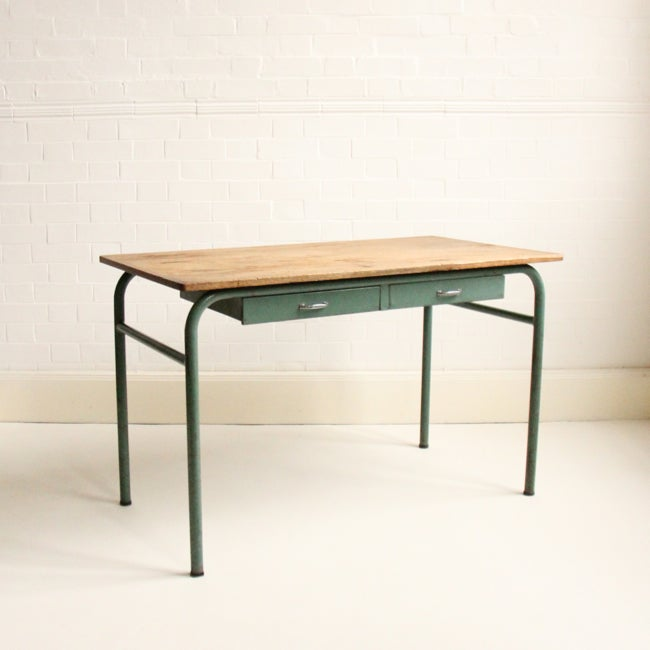 Image of Green French Desk
