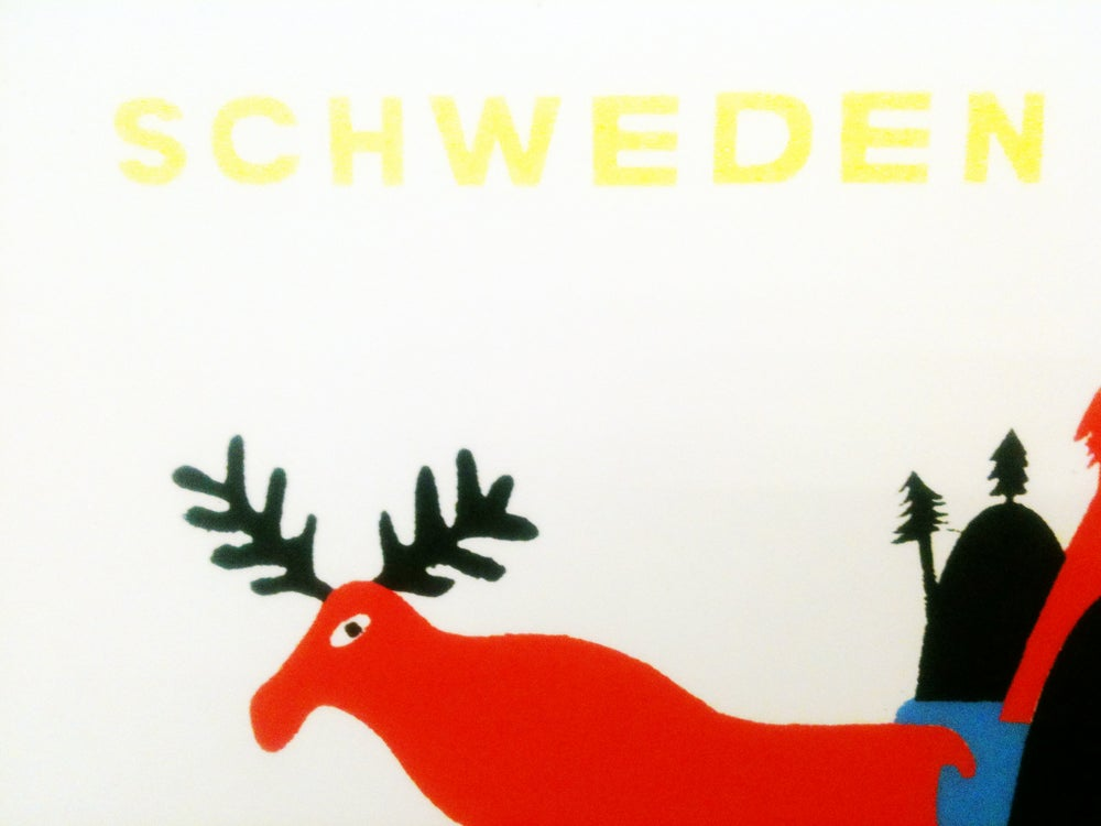 Image of IL PARADISO No.4 Schweden Poster