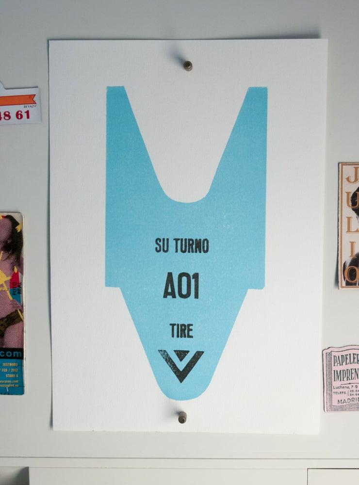 """Image of Tiquetón """"Autopista hacia el cielo"""""""