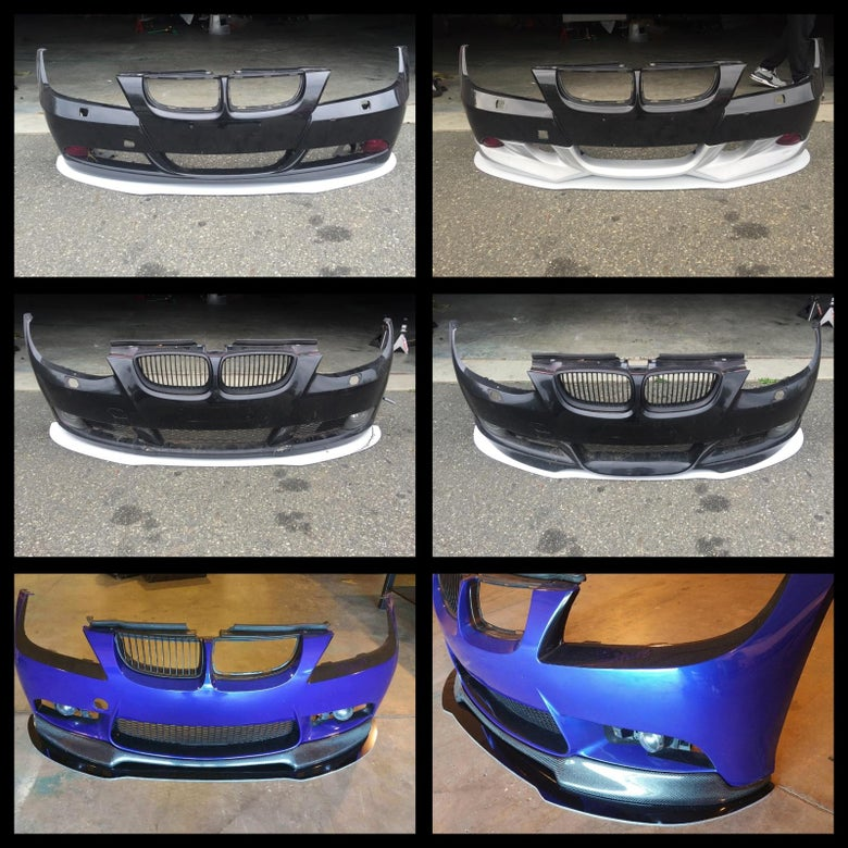 Image of E90/E92 Custom Front Splitter