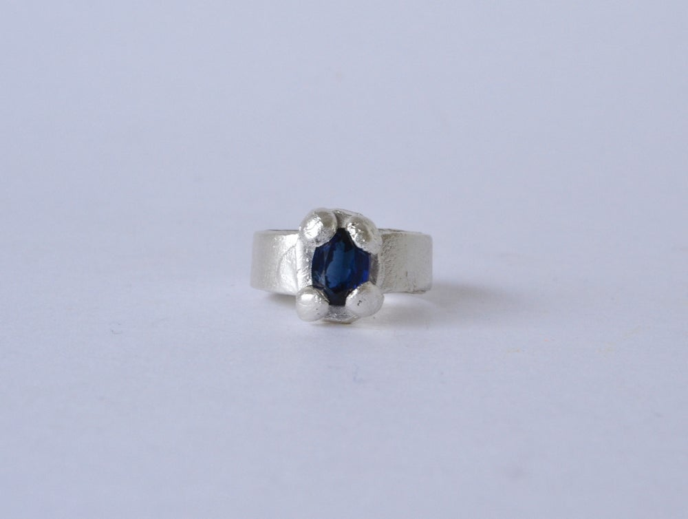 Image of Large Sapphire Ring