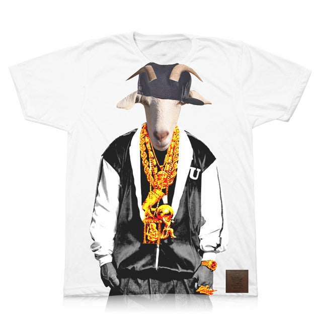 "Image of ""Goat Face Killah"" (Hip Hop Animals 1 of 3)"
