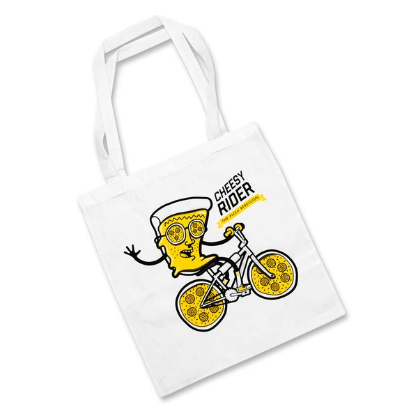 Image of Cheesy Rider Tote Bag