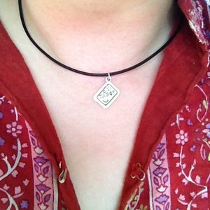 Image of Tarot Card Choker Necklace