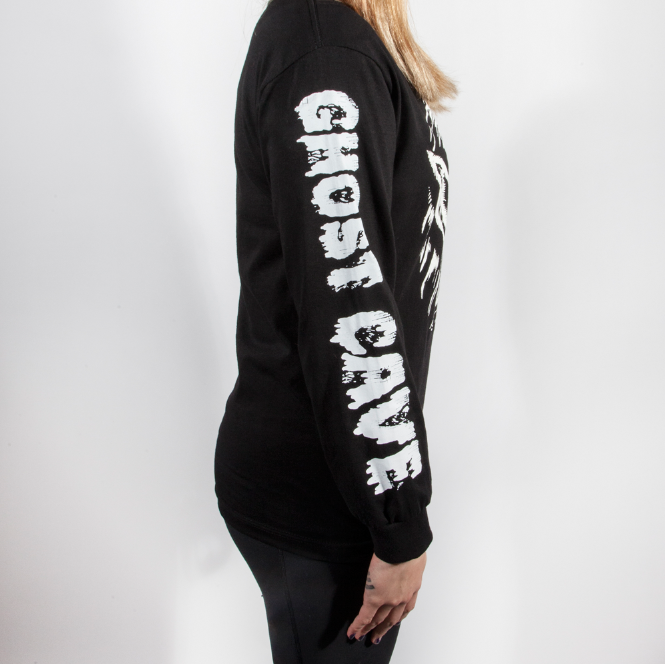 Image of Ghost Cave  Long Sleeve Tee
