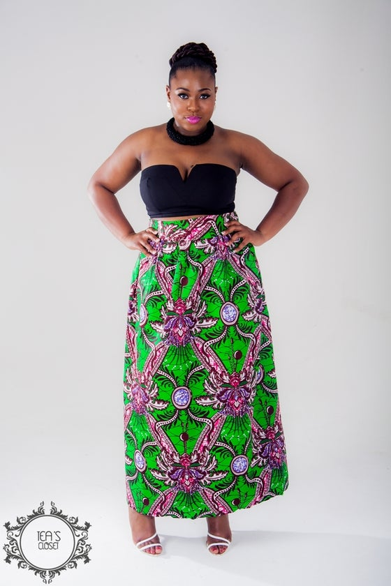 Image of KUDI MAXI SKIRT
