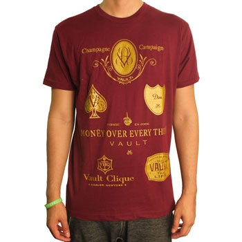Image of Champagne Campaign (Burgundy/Gold)