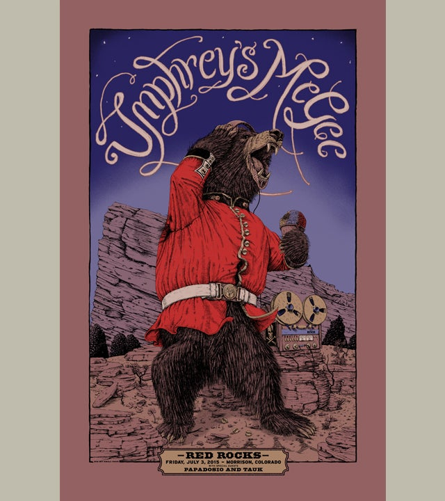 Image of Umphrey's McGee Red Rocks 15