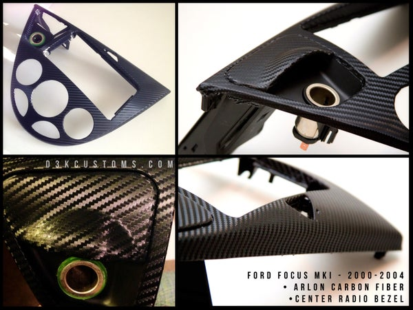 Image of Ford Focus 2000-2004 Carbon Fiber Radio Surround