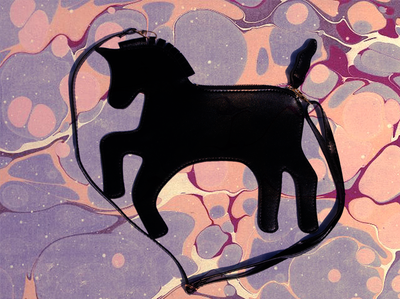 Image of Black Unicorn Bag