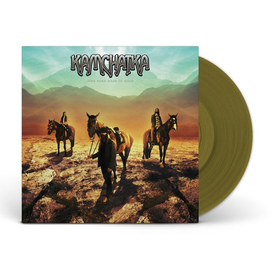 Image of Kamchatka - Long Road Made Of Gold [ GOLD VINYL]