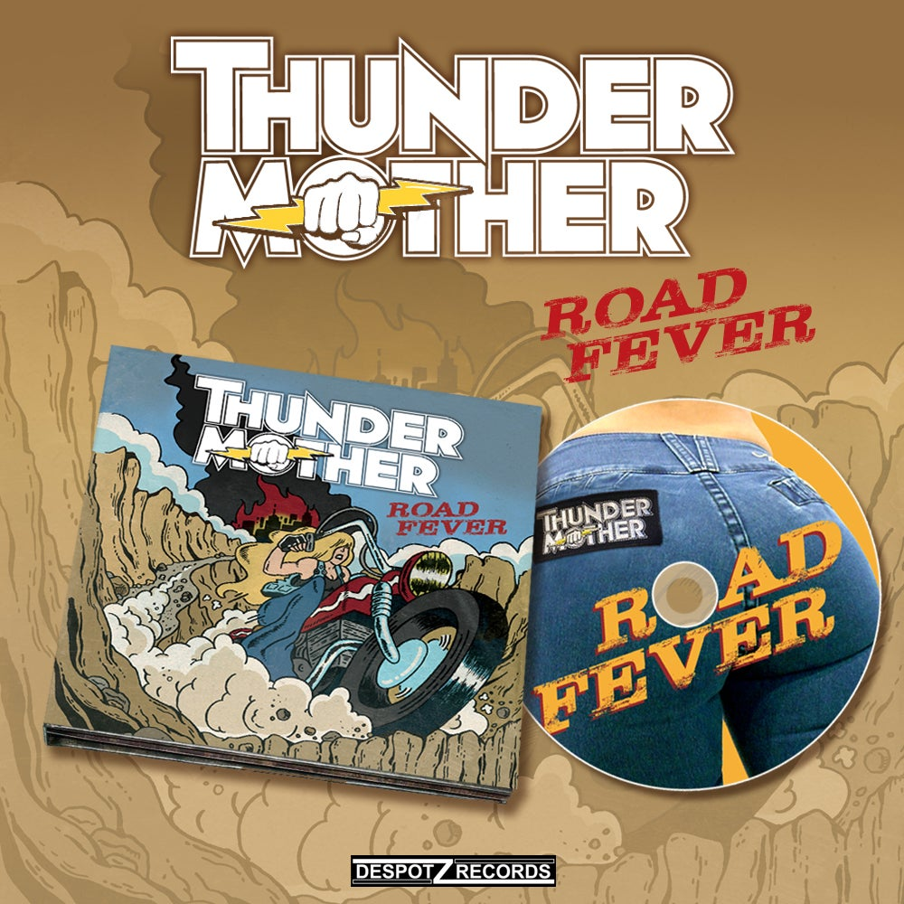 Image of Thundermother - Road Fever [CD]