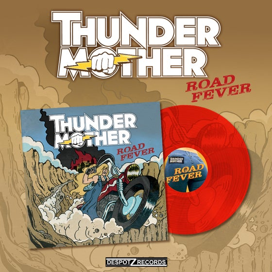 Image of Thundermother - Road Fever [RED VINYL]