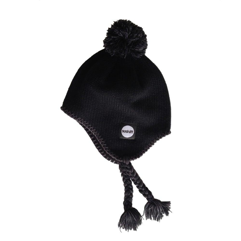 Image of Inca Beanie - Black