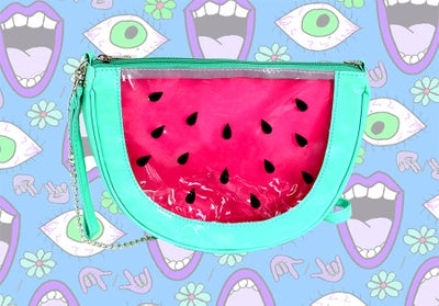 Image of Watermelon Messenger Bag