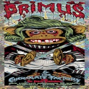 Image of PRIMUS OOMPA MONKEY gigposter - Doom pa de do 'HOLO' VARIANT