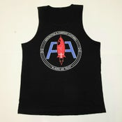 Image of Black Advanced Logo Tank (Deluxe)