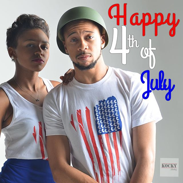 "Image of ""Happy 4th"" from Kocky Clothing"