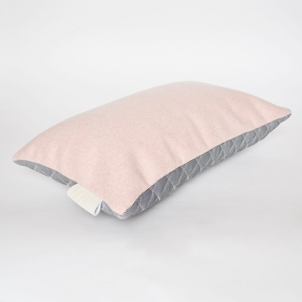 Image of - SALE - LAST ONE! Kumo Cushion Cover - Pink/Grey Rectangular