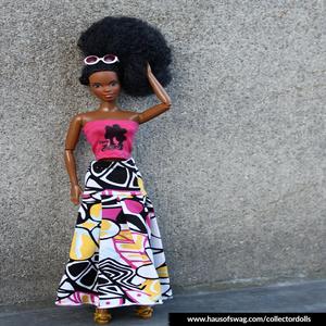 Image of Kinky Barbie II Fashion Doll