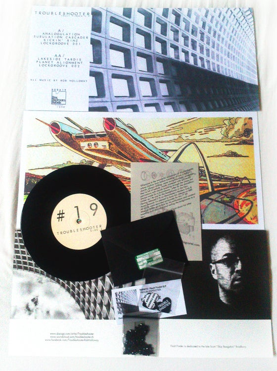 Image of BBR#19 TROUBLESHOOTER 'Fault Finder' 7 Track Limited Edition E.P